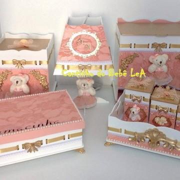Kit Higiene Mdf Luxo