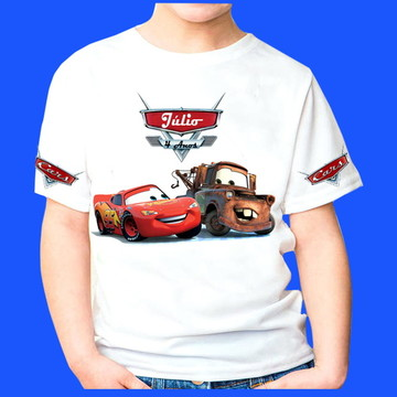 Camiseta Personalizada Carros 2