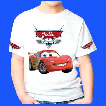 Camiseta Personalizada Carros 1