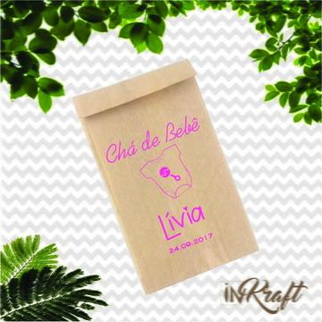 Saquinho Kraft Personalizado - Mimo