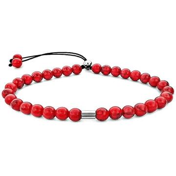 Pulseiras Vermelhas Bracelete Ajustavel Masculina e Feminina