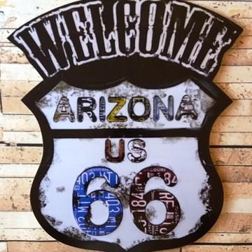Quadro Decorativo Vintage Arizona