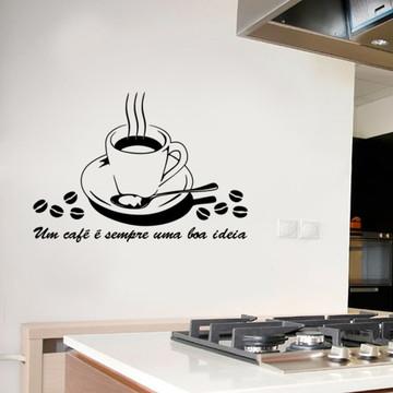 Adesivo café M