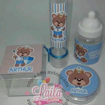 Kit Chá de Bebê Ursinho Príncipe Azul