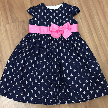 11e7a504763 Vestido infantil marinheiro