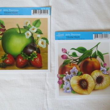 Papel para Artesanato Frutas 1062