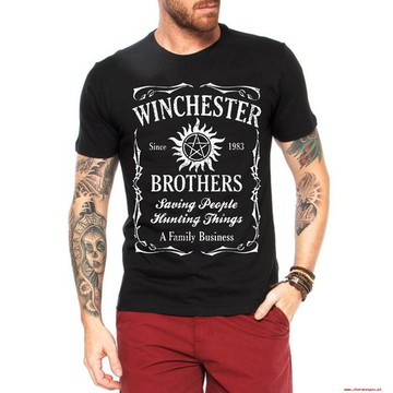 Camisetas Winchester Brothers Supernatural Nerds