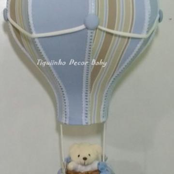 lustre balão pendente infantil personalizado Antonio