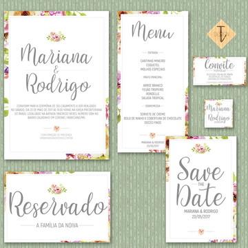 Kit Identidade Visual   Casamento Digital