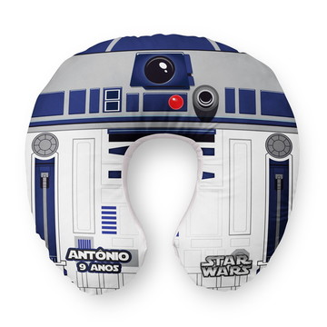 Almofada Pescoço Infantil 42D2 Star Wars Personalizada