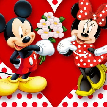 Convite Animado Mickey e Minnie - com 10 fotos
