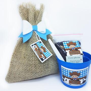 Lembrançinha Kit Ecológico Fazendinha