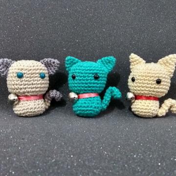 Gato Amigurumi Crochê