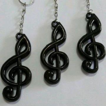 CHAVEIRO Nota Musical + TAG