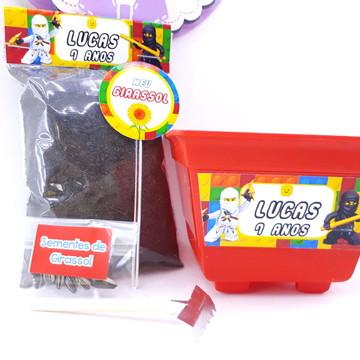 Kit Plantação Lego Ninja Go