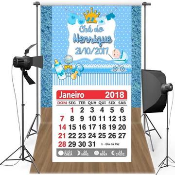 mini calendário
