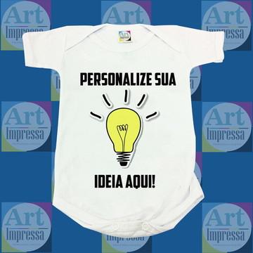 Body Personalizado - Sua Ideia Aqui