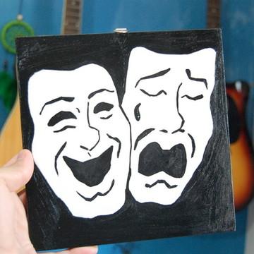 Quadro - Máscaras de Teatro