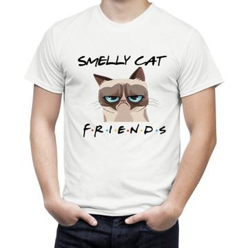 Camiseta de Serie Friends Smelly Cat