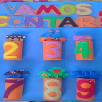 VAMOS CONTAR - Material Pedagogico