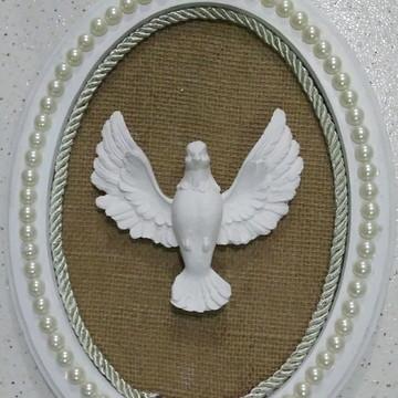 Quadro Divino Espírito Santo Mdf