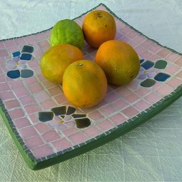 Fruteira em mosaico