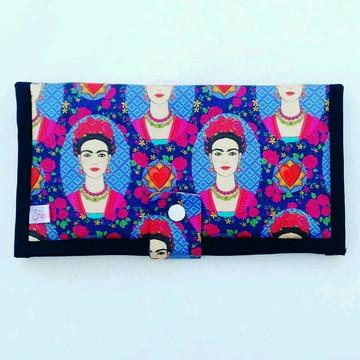 Carteira retalhos de Frida