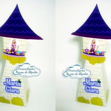 Caixa Pirâmide - Enrolados / Rapunzel