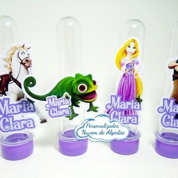 Aplique de Tubete - Enrolados/Rapunzel