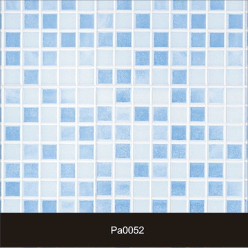 Papel de Parede Pastilha Azul