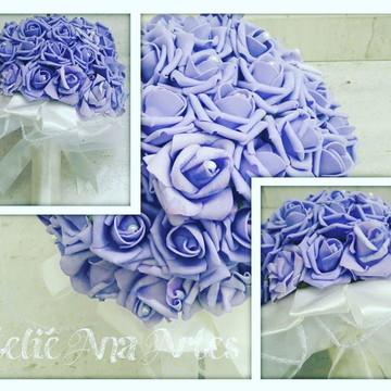 Buquê artificial flores de EVA