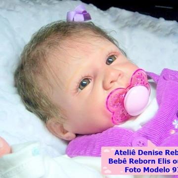 Boneca Bebê Reborn Elis ou Eric parece um bebe de verdade