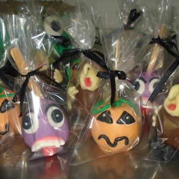 maça do amor doces cupcake halloween