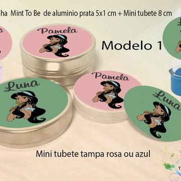 Kit Latinhas e Mini Tubetes -Jasmim