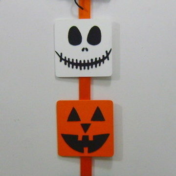 Enfeite de Porta Halloween mdf