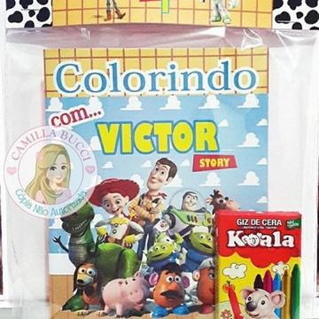 Kit Colorir Toy Story