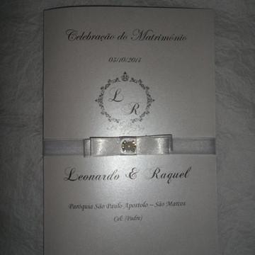 MISSAL LUXO (Celebração do Matrimônio)