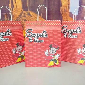 Sacolinha Surpresa - Tema Minnie Vermelha