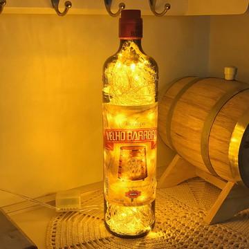 Luminária de garrafa Velho Barreiro
