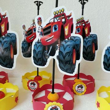 Centro de Mesa Braze Monsters Machine