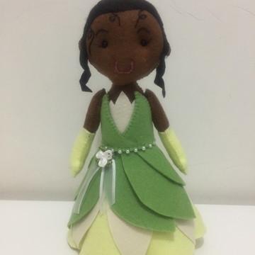 Princesa Tiana - A Princesa e o Sapo