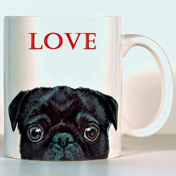 Caneca Personalizada Dog Love