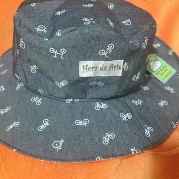 Chapéu Infantil unissex (escolher estampa)