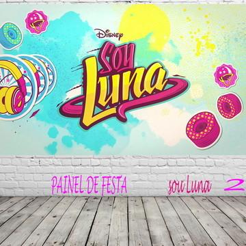 Painel de Festa Sou Luna