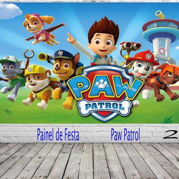 Painel de Festa Paw Patrol
