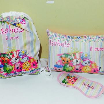 kit festa do pijama shopkins
