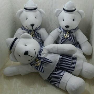 Trio de ursinhos marinheiros