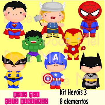 Kit Heróis 3