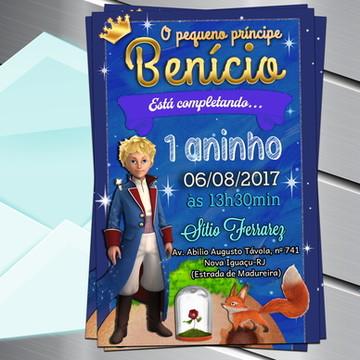 Convite Digital o Pequeno príncipe