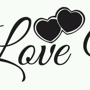 Adesivo Cabeceira Love You